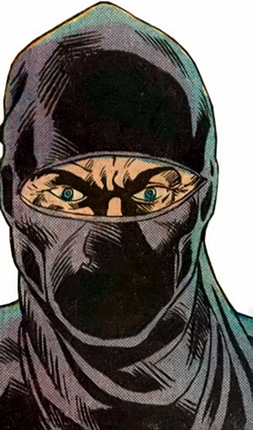 The Ninja (Iron Fist enemy) (Marvel Comics) closeup