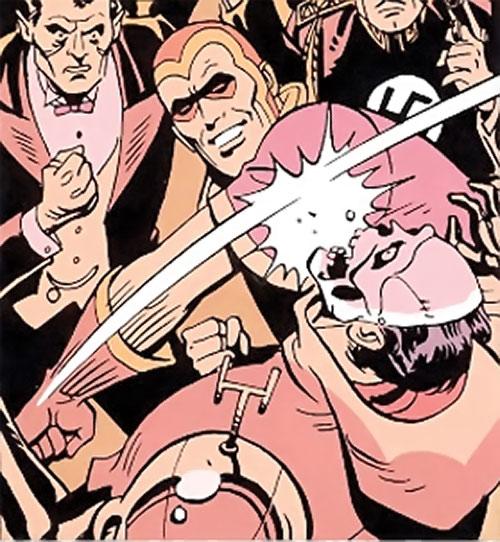 Nite Owl of the Minutemen (Watchmen DC Comics) dream fight 2/2