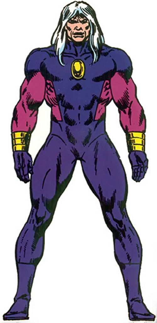 Nitro (Marvel Comics) from the Master Edition handbook