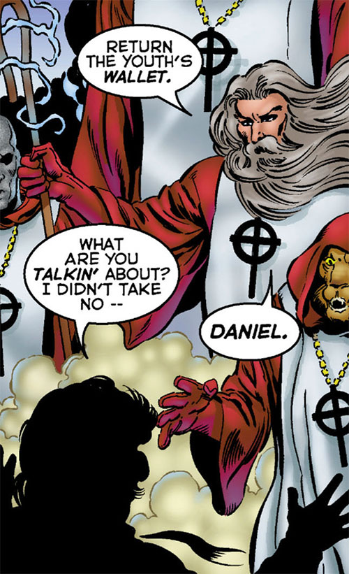 Noah and the Crossbreed (Astro City comics) and Daniel