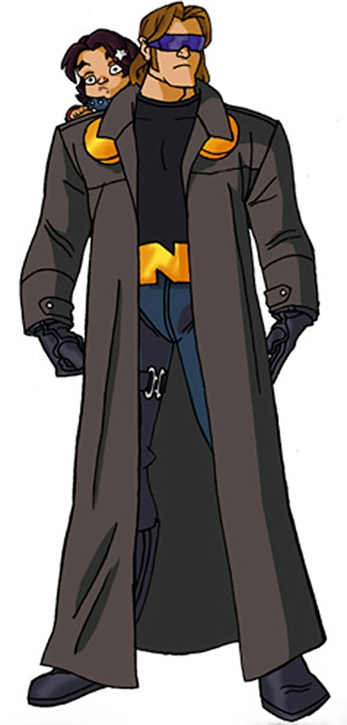 Nomad (Marvel Comics) by RonnieThunderbolts, with the trench coat and goggles