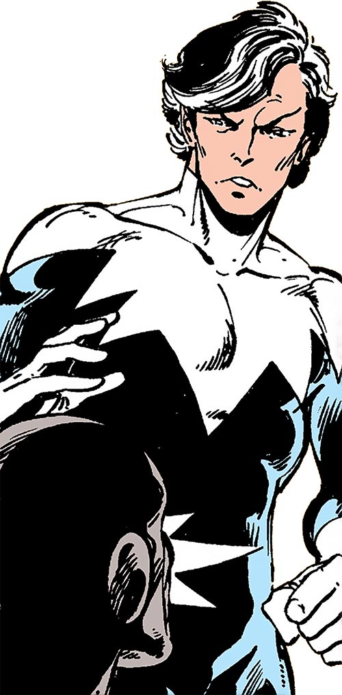 Northstar of Alpha Flight (Marvel Comics) and Puck