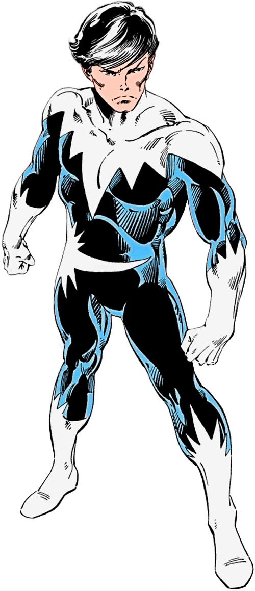 Northstar of Alpha Flight (Marvel Comics) high-angle shot