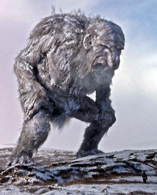 Trollhunter - Jotnar on a snowy plain