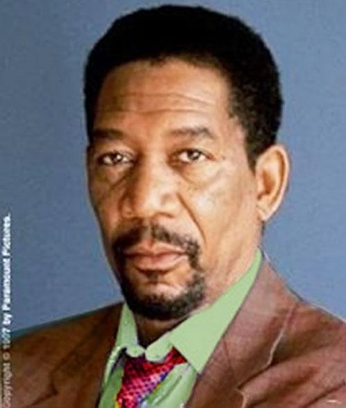 Morgan Freeman circa the year 2000