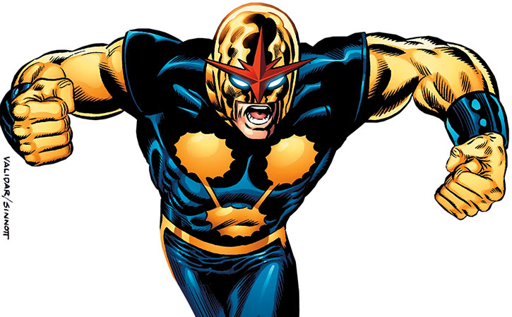 Nova (Richard Rider) (Marvel Comics) (Classic era) by Validar and Sinnott