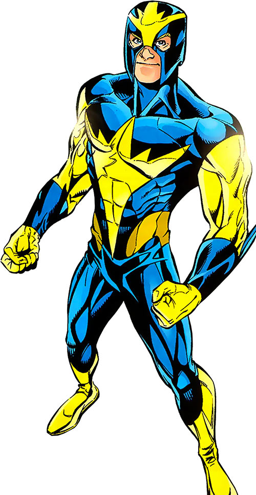 Nova (Marvel Comics) (1990s New Warriors era) 1994 costume