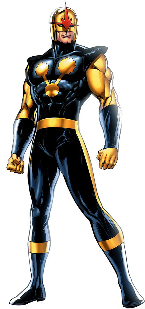 Nova (Richard Rider) (Marvel Comics) (Classic era) by Sean Chen