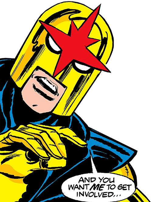 Nova Marvel Comics Richard Rider Classic Era
