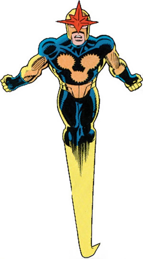 Nova (Richard Rider) (Marvel Comics) (Classic era) the human rocket