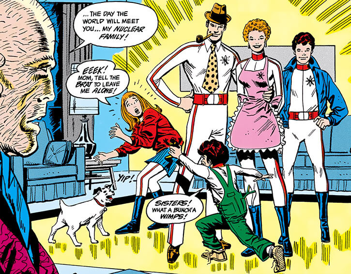 Nuclear Family (DC Comics) (Outsiders enemies) and their creator