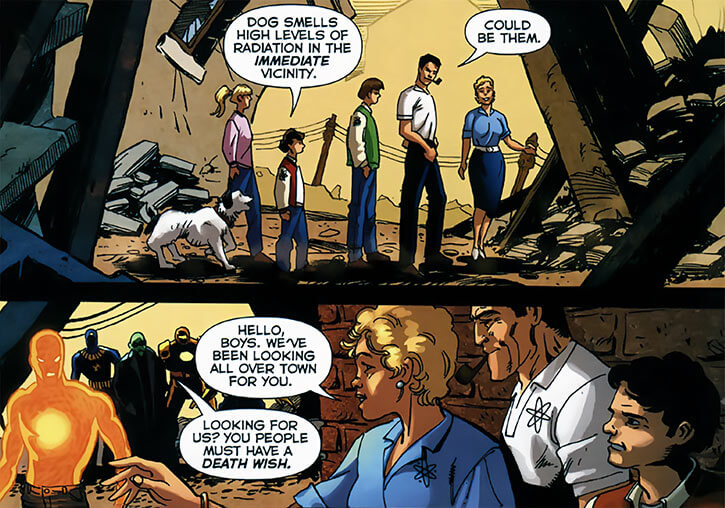 Nuclear Family (DC Comics) (Outsiders enemies) in 2006