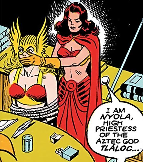 Nyola the Aztec priestess - DC Comics - All-Star Squadron Hawkgirl