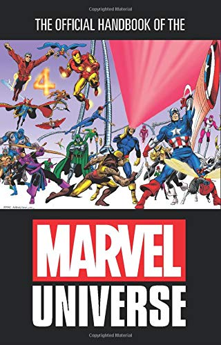 Omnibus reedition of the Official Handbook of the Marvel Universe