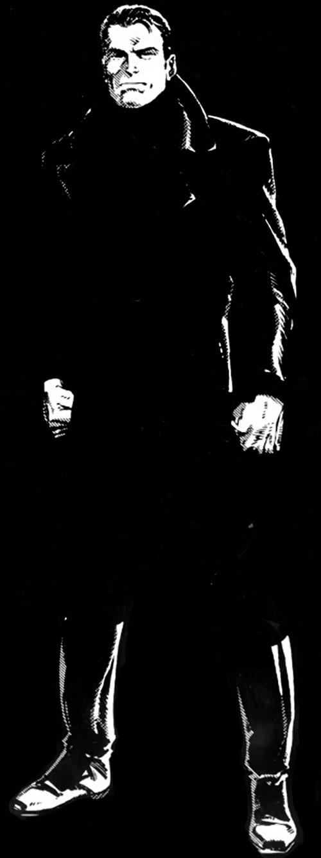 OMAC (Byrne version) in black clothing