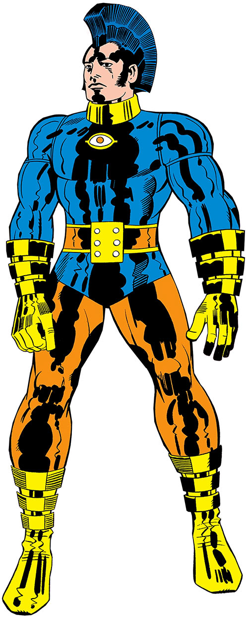 Jack Kirby's OMAC (DC Comics) hanging tough