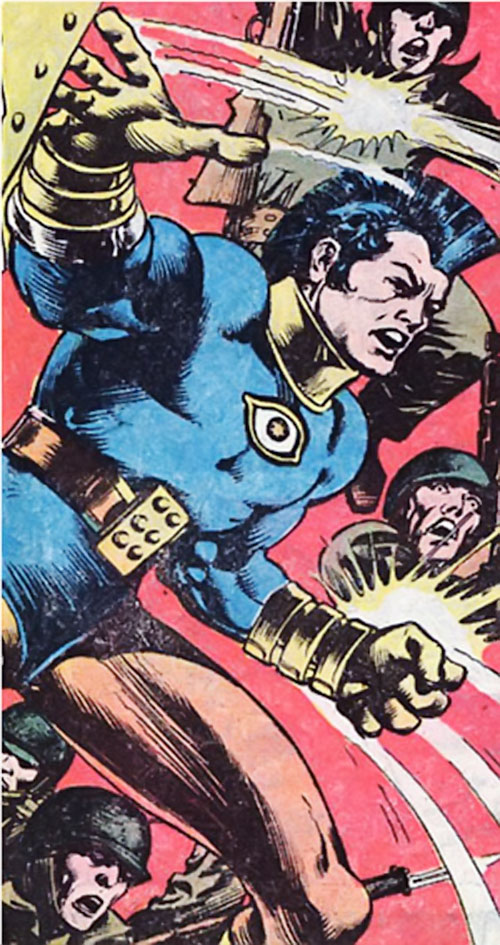 Jack Kirby's OMAC (DC Comics) and 20th century soldiers