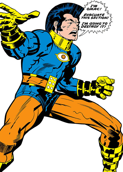 OMAC (DC Comics) (Jack Kirby) very first appearance