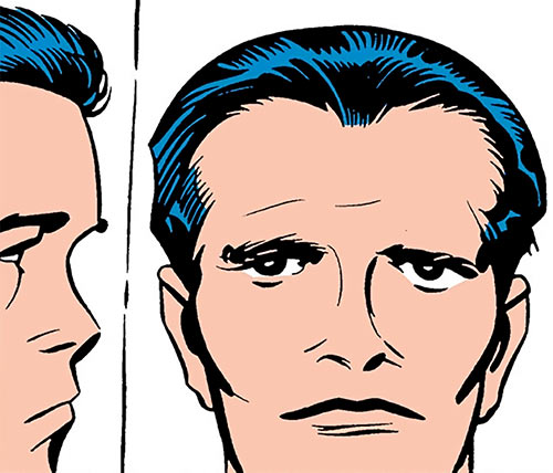 Buddy Blank (Jack Kirby's OMAC) (DC Comics) face ID photos