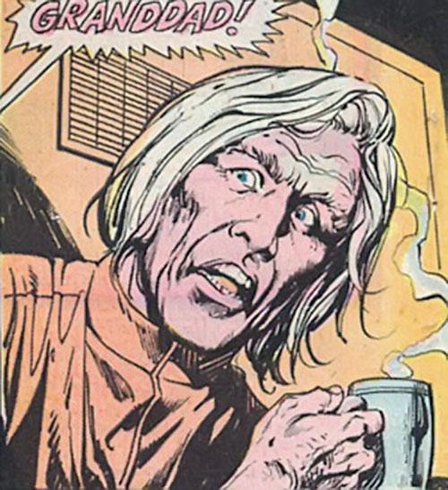 Buddy Blank (Jack Kirby's OMAC) (DC Comics) as Granddad
