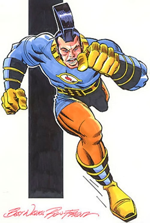 Jack Kirby's OMAC (DC Comics) by Ron Frenz