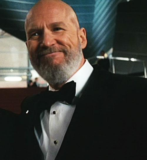 Obadiah Stane (Jeff Bridges in Iron Man) (Marvel Movies) genial black tuxedo