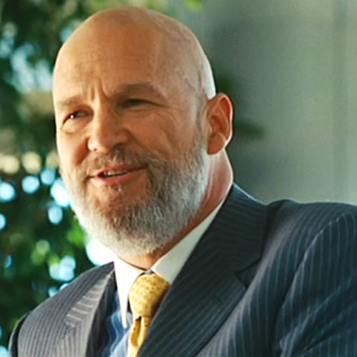 Obadiah Stane (Jeff Bridges in Iron Man) (Marvel Movies) smiling