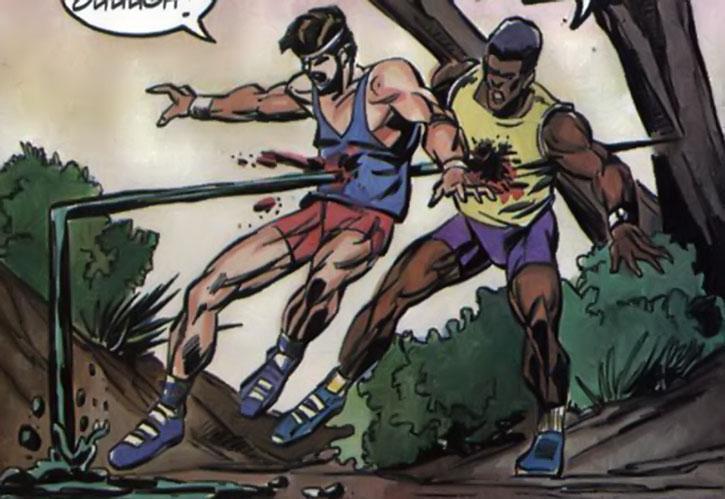 Oblivion kills two joggers in his liquid form