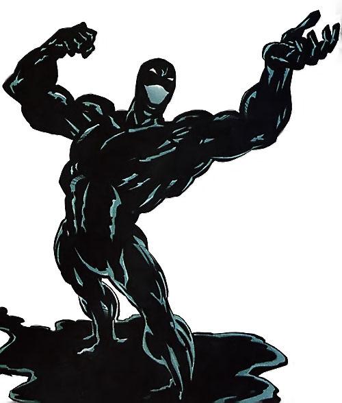 Oblivion (Icon enemy) (Milestone Comics) naked