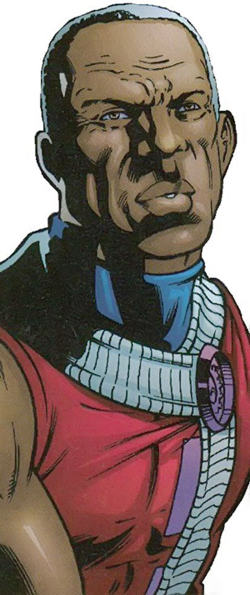 Obregon Kaine (Negation Crossgen comics) face closeup