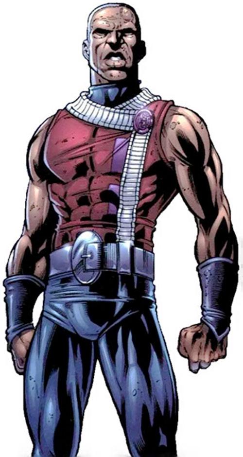 Obregon Kaine (Negation Crossgen comics) in red and blue