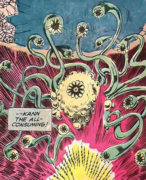 Kann the all-consuming (Claw the Unconquered enemy) (DC Comics)