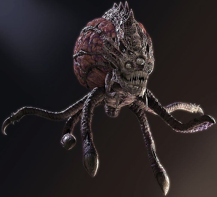 Modern model for the octobrains