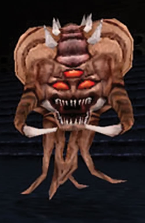 An octobrain in Duke Nukem