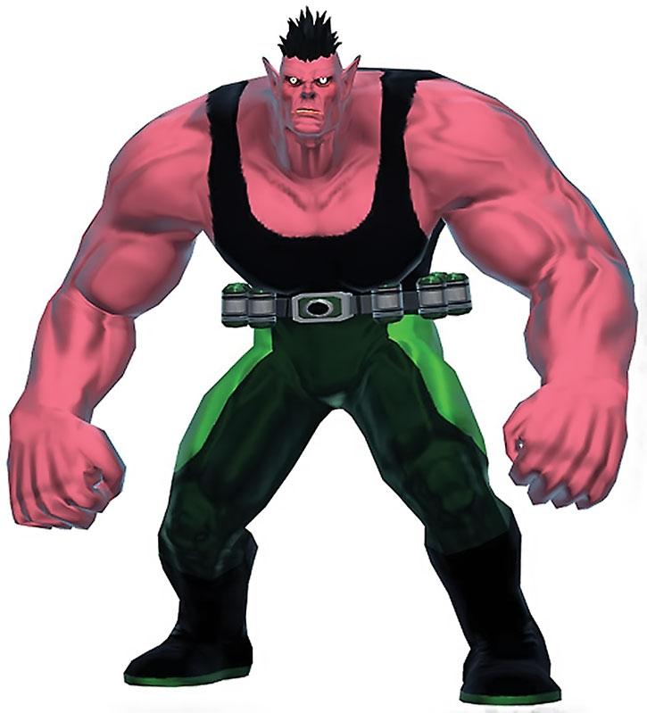 Ogre (James Stevens) MMO model on a white background