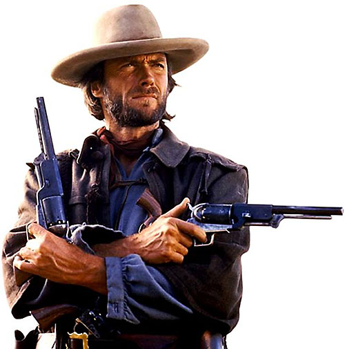 Clint Eastwood in The Outlaw Josey Wales