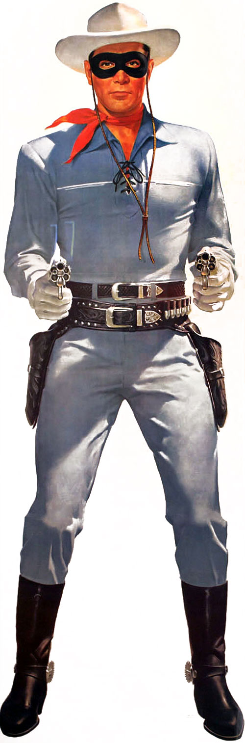 The Lone Ranger from the 1950s TV Series