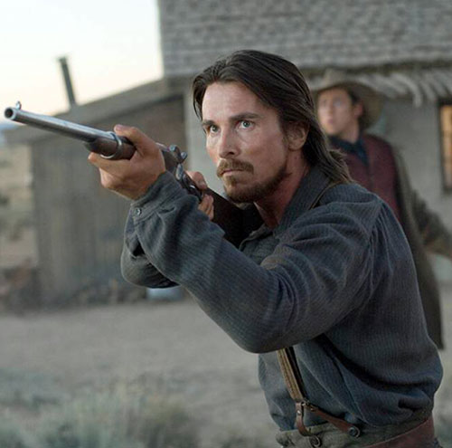 Christian Bale in 3:10 to Yuma