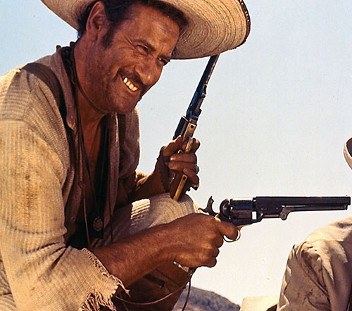 Eli Wallach in The Good The Bad and The Ugly