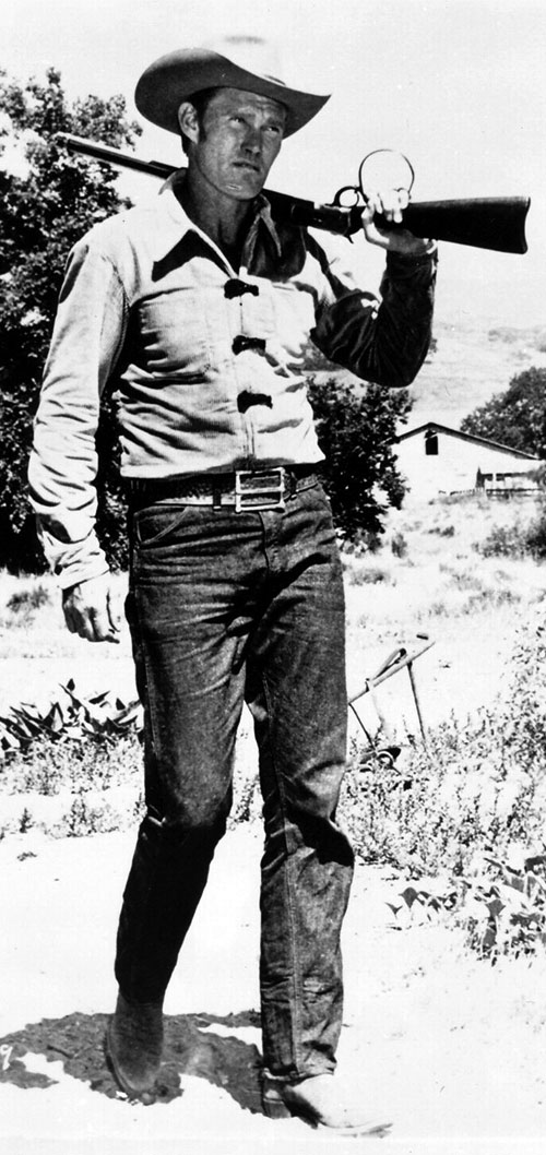 Chuck Connors in The Rifleman