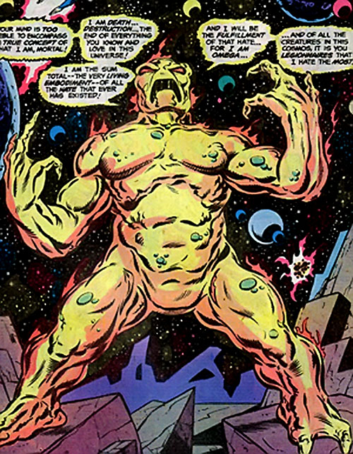 Omega (Legion of Super-Heroes enemy) (DC Comics)
