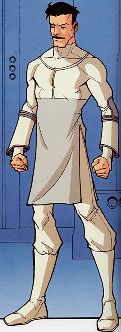 Omni-Man (Invincible character) (Image Comics) in a Viltrumite uniform