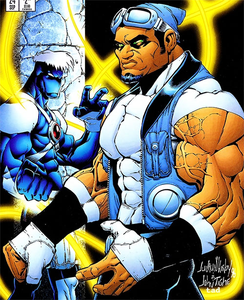 Omni and Backlash (Image Comics)