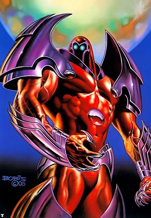 Onslaught (X-Men enemy) (Marvel Comics) by Boris Vallejo
