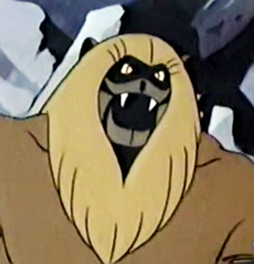 Ookla the Mok (Thundarr the Barbarian cartoons) face closeup
