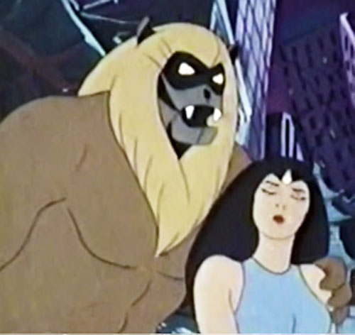 Ookla the Mok (Thundarr the Barbarian cartoons) and Ariel
