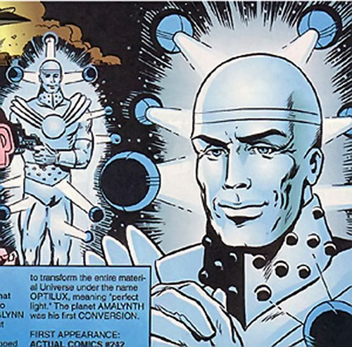 Optilux (Supreme enemy) (Image Comics) early hologram form