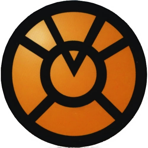 Orange Lantern greed logo