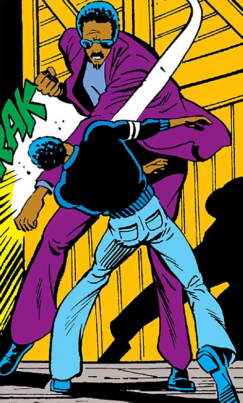 Oryx (Master of Kung Fu enemy) (Marvel Comics) vs One-Eyed Carter