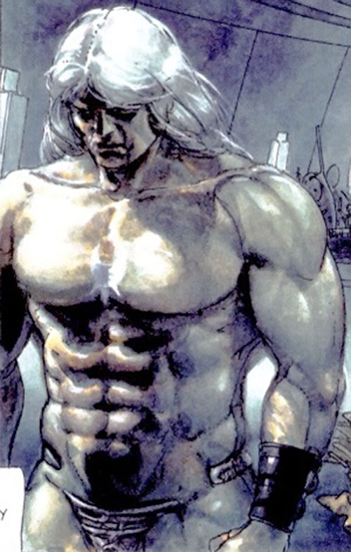 Metabaron Othon von Salza bare-chested